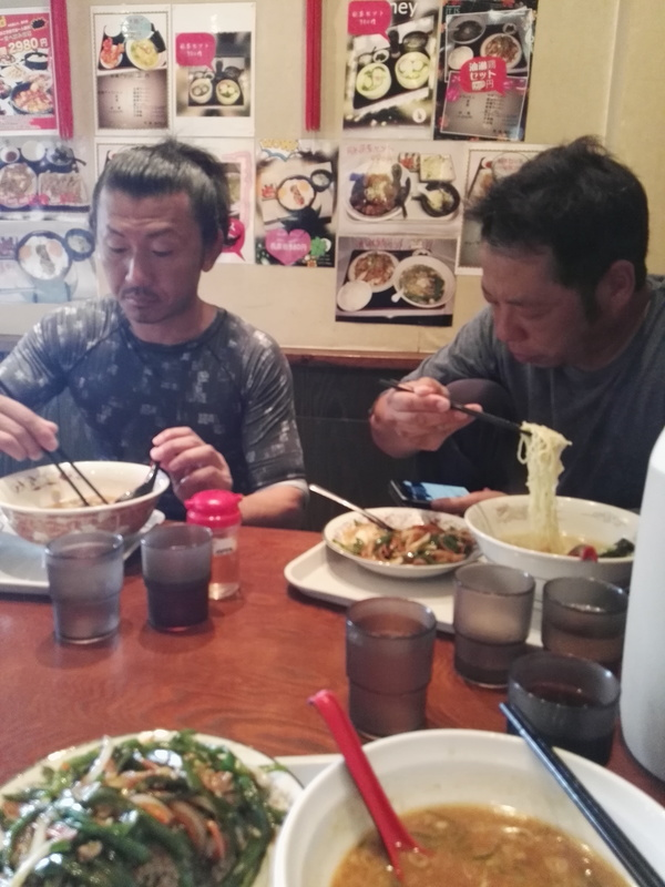 職人の昼飯
