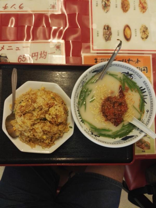 昼御飯は毎日中華料理(笑)