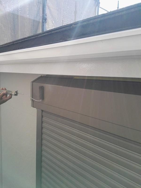 外壁塗装 ベランダ防水最終日